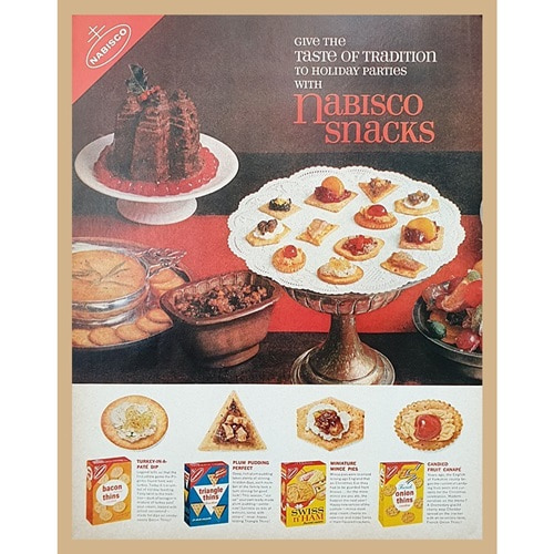 1962' NABISCO SNACKS