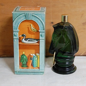 VINTAGE AVON PONY DECANTER